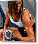 Fitness 28-2 Metal Print
