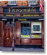Fitzgeralds Pub - Dublin Ireland Metal Print