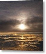 Five And A Half Mile Sunset Metal Print by Richard Reeve