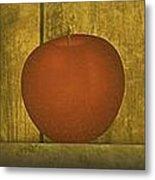 Five Apples  Metal Print