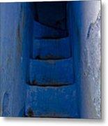 Five Blue Metal Print