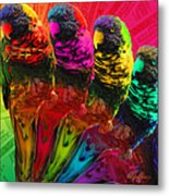 Five Card Monty Metal Print