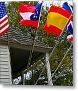 Five Flags Metal Print