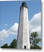Five Mile Point Lighthouse Metal Print