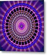 Five Star Gateway Kaleidoscope Metal Print