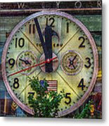 Five To Twelve Metal Print