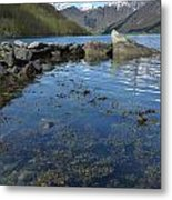 Fjord To The Sky Metal Print