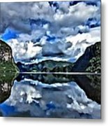 Fjords Of Norway Metal Print
