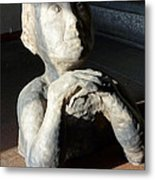 Flabbergasted Young Man  Metal Print by Reiner Poser