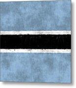 Flag Of Botswana Metal Print