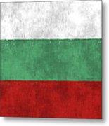 Flag Of Bulgaria Metal Print