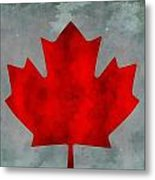 Flag Of Canada Metal Print
