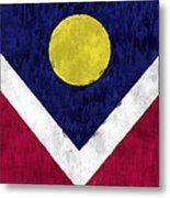 Flag Of Denver Metal Print