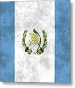 Flag Of Guatamala Metal Print