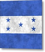 Flag Of Honduras Metal Print