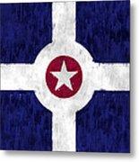 Flag Of Indianapolis Metal Print