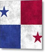 Flag Of Panama Metal Print