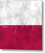 Flag Of Poland Metal Print