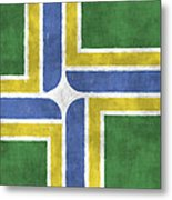 Flag Of Portland Metal Print