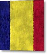 Flag Of Romania Metal Print