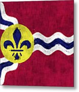 Flag Of St.louis Metal Print