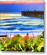 Flagler Beach Beautiful Metal Print