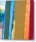 Flags In Provincetown Metal Print