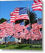 Flags Of Glory Metal Print