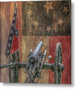 Flags Of The Confederacy Metal Print by Randy Steele