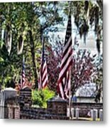 Flags That Stand Metal Print