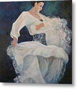 Flamenco 2 Metal Print
