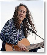 Flamenco Guitarist Metal Print