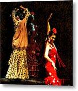 Flamenco Series #6 Metal Print