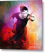 Flamencoscape 03 Metal Print