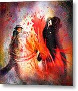 Flamencoscape 07 Metal Print