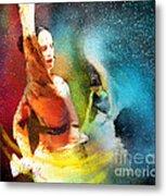 Flamencoscape 08 Metal Print