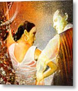 Flamencoscape 10 Metal Print