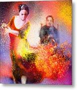 Flamencoscape 11 Metal Print