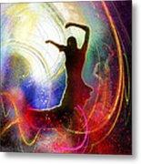 Flamencoscape 16 Metal Print
