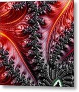 Flames - A Fractal Abstract Metal Print