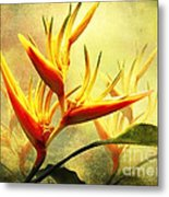 Flames Of Paradise Metal Print
