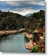 Flaming Gorge - Cart Creek 002 Metal Print