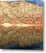 Flaming  Gorge Reflections Metal Print