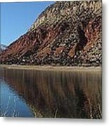 Flaming Gorge Winter Metal Print