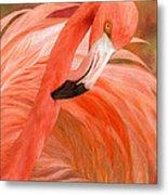 Flamingo - Spirit Of Balance Metal Print