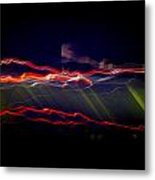 Flash Metal Print