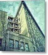 Flat Iron 8 Metal Print by Mark Block