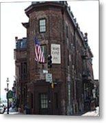 Flat Iron Annapolis - Maryland Inn Metal Print