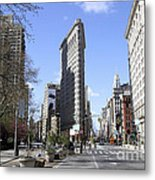Flat Iron Building-4 Metal Print