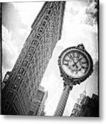 Flat Iron Metal Print by Peter Aitchison